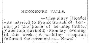 BLOEDEL Mary marries Frank Struck news 18Apr1901_edit